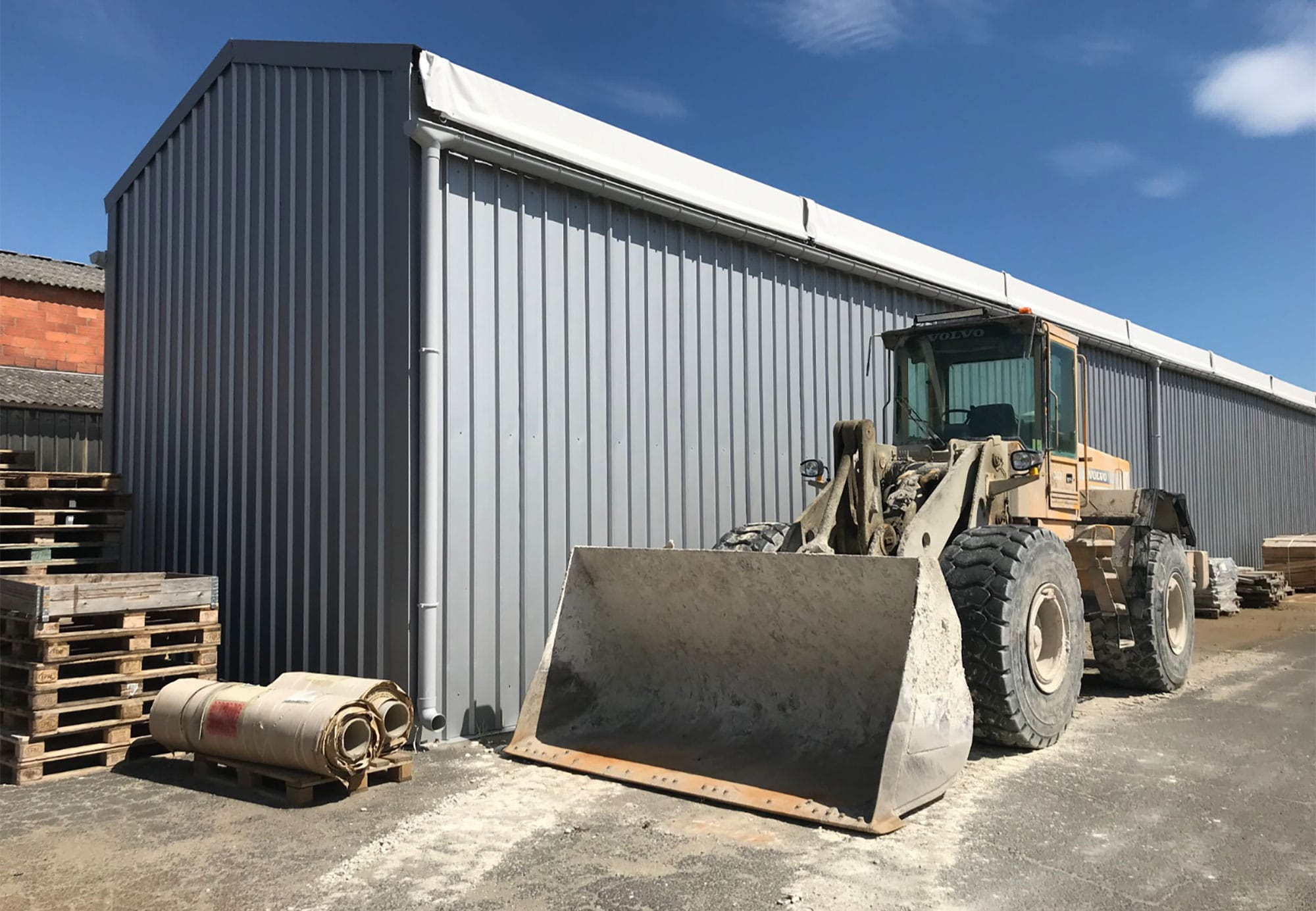 Quelle solution pour un abri de chantier démontable ?