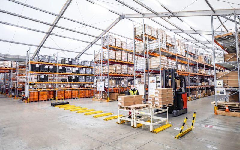 Bâtiment de stockage industriel disponible à la location